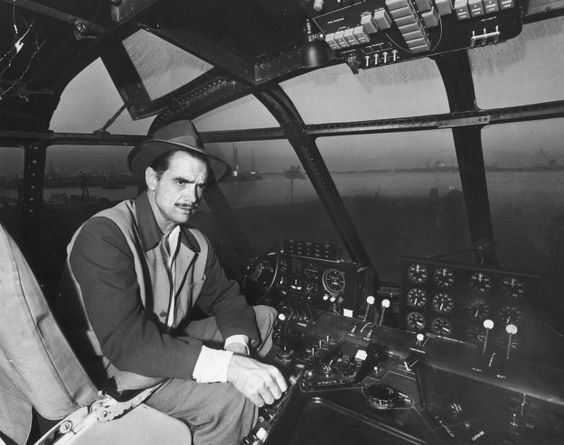 #Swashbucklers don't even see the sky as the limit #HowardHughes #Aviator #SpruceGoose