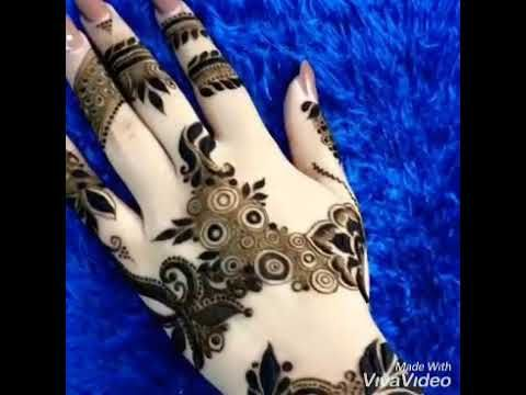 نقش حناء خليجي للاعراس روعه Henna Youtube Hand Henna Henna Hand Tattoo Hand Tattoos