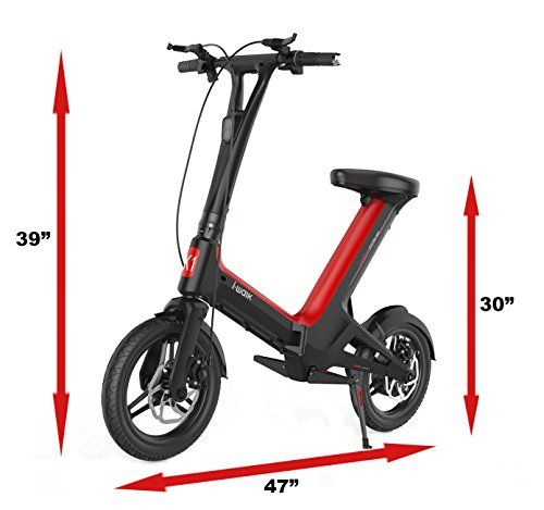 Foldable Electric Scooter With Seat Commuter Bike For Adults