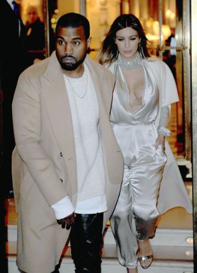Unforgettable In Paris: Kim Kardashian Busts Out With Kanye West | Radar Online
