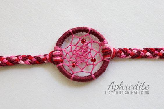 Aphrodite Dreamcatcher Bracelet by ItDoesntMatterInk on Etsy, $9.99