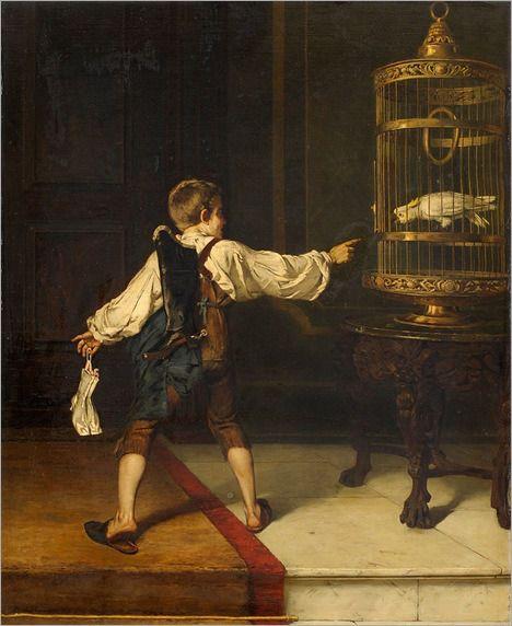 Best Friend by Christian Ludwig Bokelmann (German 1844-1894)