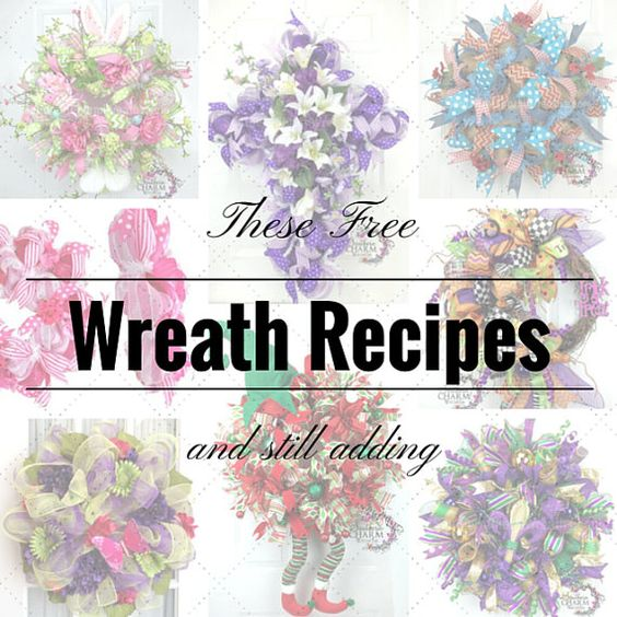 How To Make a Deco Mesh Wreath Tutorial by SouthernCharmWreaths