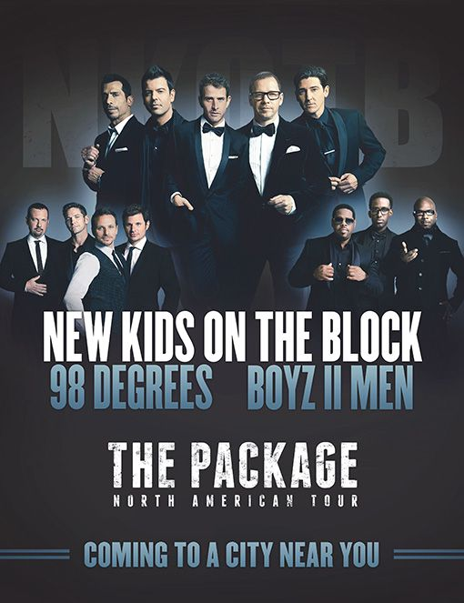 New Kids on the Block, 98 Degrees, and Boyz II Men touring together this summer: 'Ladies, we're coming for you'