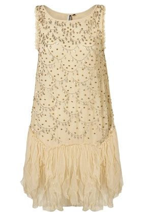 LIMITED EDITION Scallop Embellished Drop Waisted Dress** - StyleSays