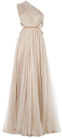 feinste Stoffe üppiges Design populärer Stil Maria Lucia Hohan Keisha Kleid - Lyst antike griechische ...
