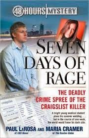 This #documentary exposes accused #Craigslist_killer Philip Markoff's bisexual desires and his interest in sadomasochism and bondage. Featuring exclusive interviews with victims, Seven Days of Rage reveals new details about Philip Markoff's alleged week-long crime spree and how he almost got away. (pinned from http://criminal-justice-documentary.blogspot.com/2014/06/the-craigslist-killer-seven-days-of-rage.html)
