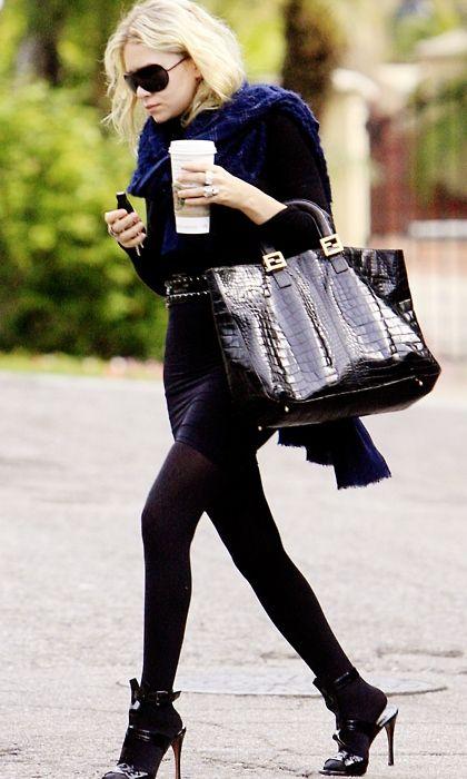 olsen all black!