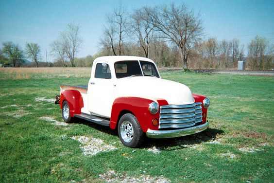 52 Chevy Pickup... I want this sweet little truck