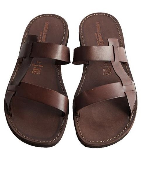 Mens Leather Sandals And Leather On Pinterest