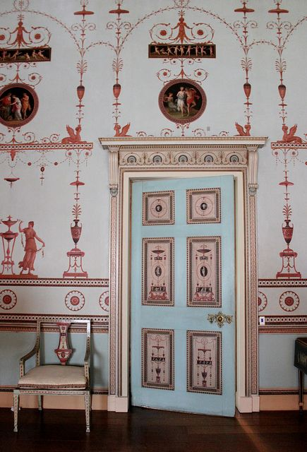 The Etruscan Dressing Room: Osterley Park House: