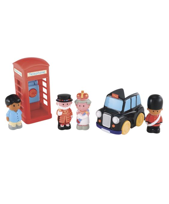 HappyLand Great Britain Set : HappyLand Great Britain Set : Early Learning Centre UK Toy Shop