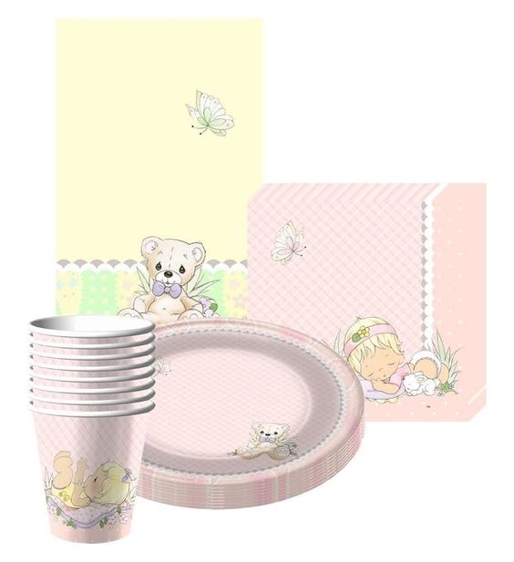 Precious Moments Baby Shower Party Supplies: Girl Baby Showers, Precious Moments And Party Supplies On
