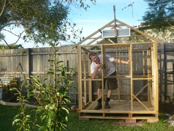 P1080843 600x450 Pallets Chicken House in pallet garden diy pallet ideas  with shed Pallets House Coop chook Chicken