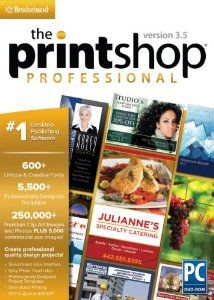 Amazon.com: Encore Software The Print Shop Professional 3.5: Software