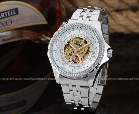 men automatic watches Top Popular Casual Designer Logo Custom Jargar Watches For Men -Forsining Watch Company Limited www.forsining.com