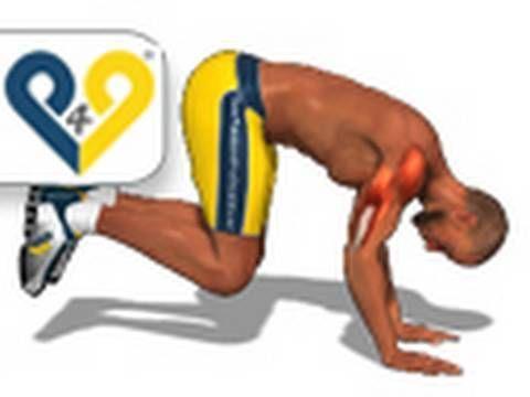 Poitrine épaules et triceps (Burpees)