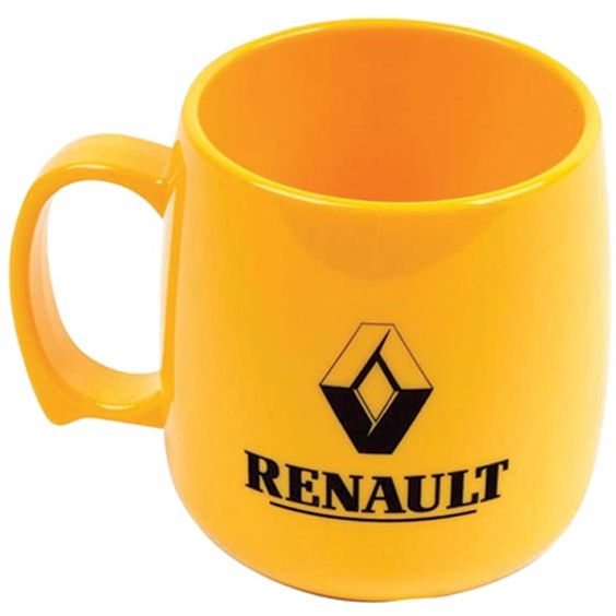 Personalised Classic Plastic Mugs that is perfect for the safety conscious. From £1.28.