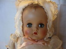 "VTG~ANTIQUE~M.ALEXANDER~""SO LITE BABY~16"" DOLL""~1930'S~ALL ORIG CLOTHING.""SWEET"