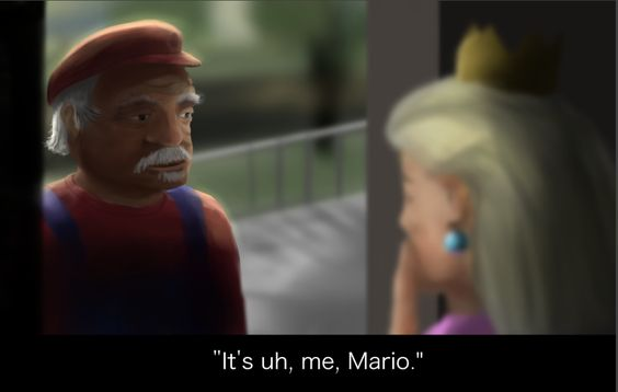 geriatric Mario stories