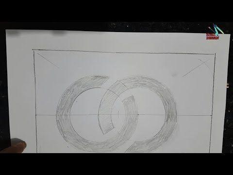 طريقة رسم حرف الاس لتطبيقه على سقف الجبس Youtube