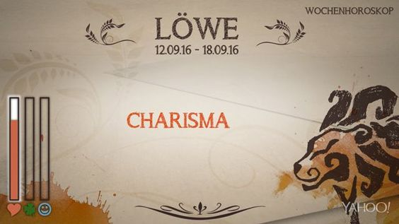 Wochenhoroskop: Löwe (KW37 - 2016)