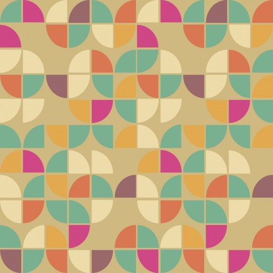 Seamless pattern in retro style. Disco patterns.