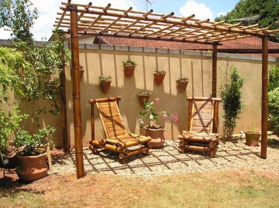 bambusm bel gartendekoration gartenm bel bambus deko gesundheit pinterest deko und dekoration. Black Bedroom Furniture Sets. Home Design Ideas