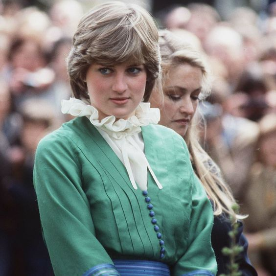 Lady Diana Spencer visits Broadlands shortly before her wedding in May 1981.