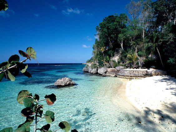 GoldenEye Resort, Jamaica... Just look up the room prices. I dare ya.