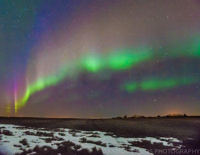 Northern Lights - Famous Amos Photography Near Grande Prairie, Alberta, Canada