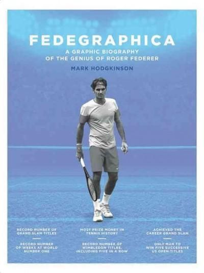 Fedegraphica: A Graphic Biography of the Genius of Roger Federer (Hardcover)