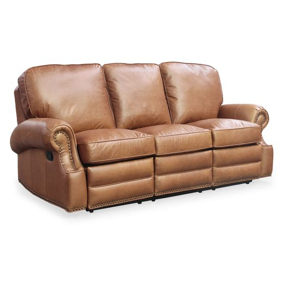 Barcalounger Vintage Longhorn Reclining Sofa   from hayneedle.com