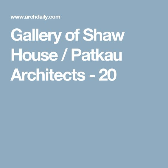 Gallery of Shaw House / Patkau Architects - 20