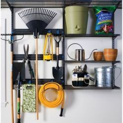 Creative Hacks Tips For Garage Storage And Organizations 111 Garden Tool Organization Garage Organization Garage Storage Systems