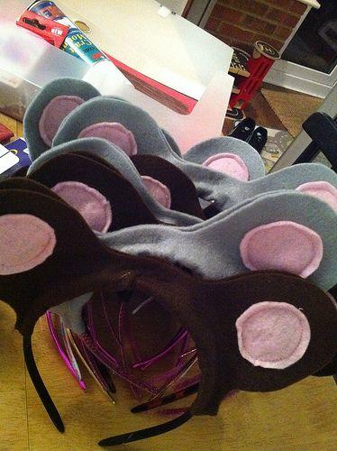 Gruffalo feast mouse ear headbands celebrating for Gruffalo fabric