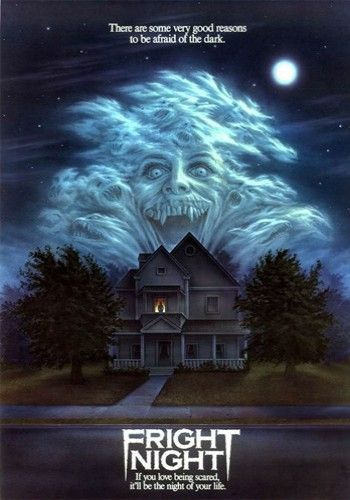 Fright Night (1985). Chris Sarandon, William Ragsdale, Amanda Bearse, Roddy McDowall. Vampires   Horror.