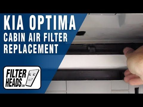 Pin On Kia Cabin Air Filter Replacement Videos