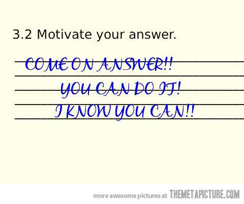 Funny test answers pics  Pictures of funny student exam  quiz and     Polyvore