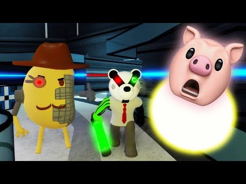 Roblox Piggy Chapter 12 Plant Youtube In 2020 Piggy Roblox Black Art Pictures