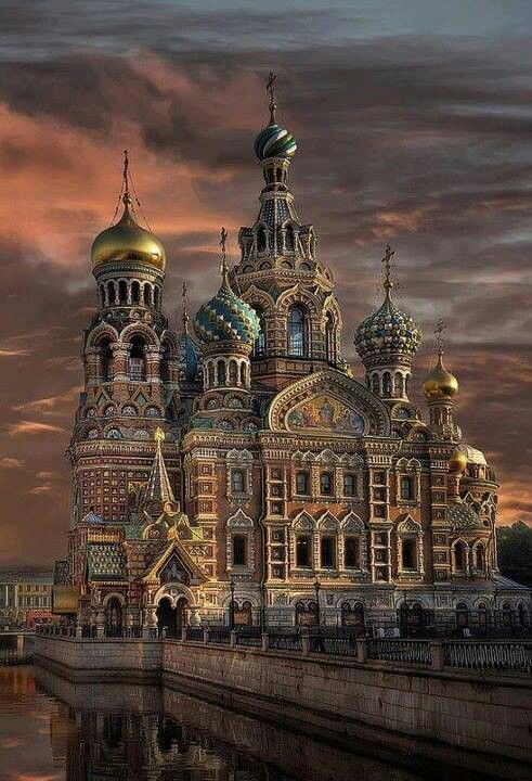 Igreja do Salvador do Sangue,  Rússia