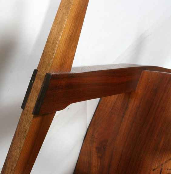 122024 George Nakashima Walnut Conoid Chair Lot 122024 George Nakashima Furniture Nakashima Nakashima Chair