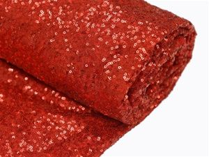 A Valentine's Day wedding that out sparkles the rest can be easily done with our Extravaganza Duchess Sequin Fabric Bolt in Red! Decorate the tables, chairs, or anything else to celebrate love in more ways than one! http://www.tableclothsfactory.com/Extravaganza-Duchess-Sequin-Fabric-Bolt-Red-54-p/fab_5402_red.htm