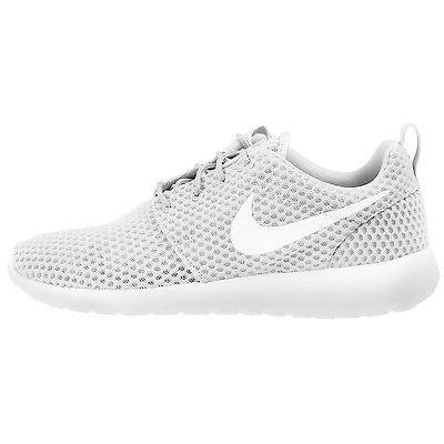 Nike Roshe One Breeze Mens 718552-110 White Grey Rosherun Running Shoes Size 9