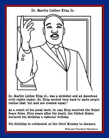 K Is For King Coloring Page coloring pages and more martin luther king martin luther coloring ...