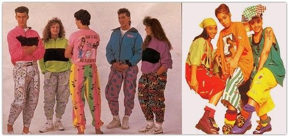 90s fashion, Neon colors and 1990s on Pinterest