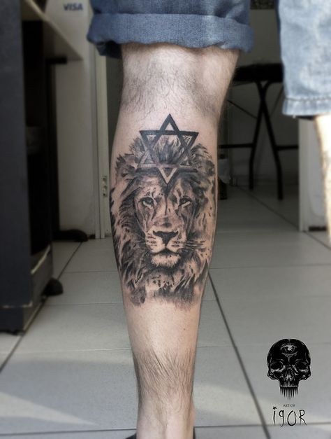 Tattoo Lion Of Judah David 30 Ideas Tattoos Star Of David Tattoo David Tattoo