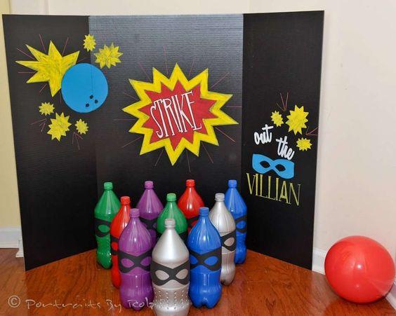 Superhero Birthday Party Ideas | Photo 2 of 22 | Catch My Party