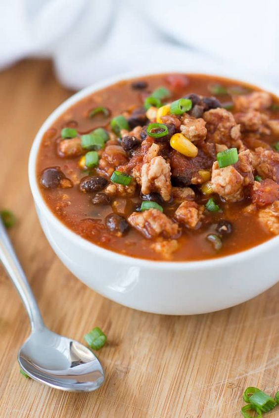 Clean Eating Turkey Chili