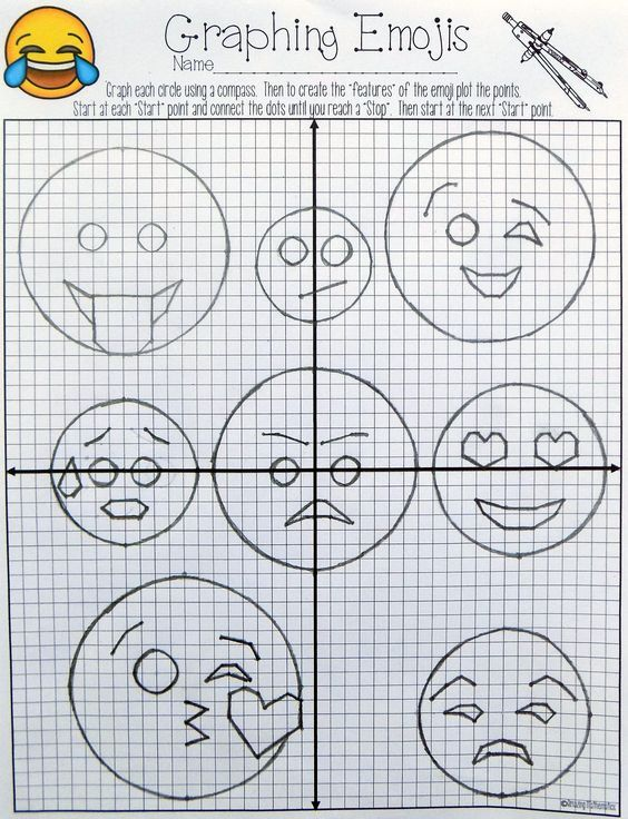 I love this idea My Geometry students would love this graphing – Graphing Circles Worksheet